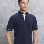 Kustom Kit Button Down Contrast Polo