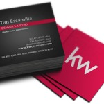 Small Square Postcards 105mmx105mm coated front + gloss laminated + uncoated reverse